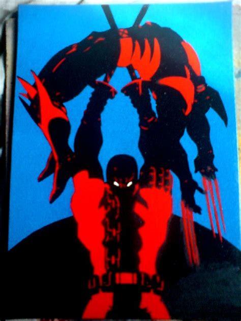 imagenes de wolverine vs deadpool deadpool vs wolverine by mentski on deviantart