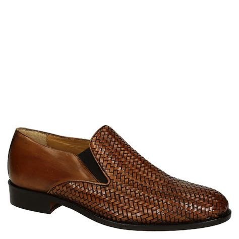 woven leather s gussets loafers shoes leonardo