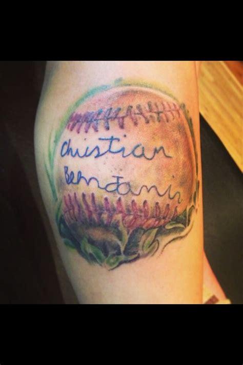 baseball fersttattoos mom boys tattoo style pinterest