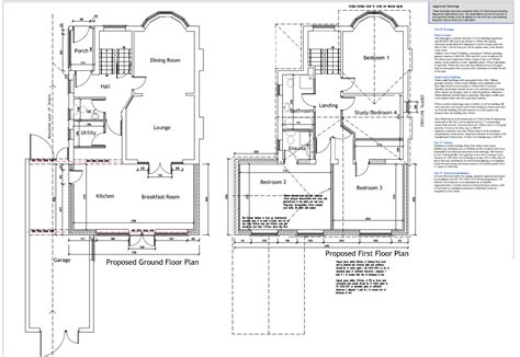 kitchen extension floor plans exle plans