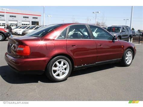 Audi A4 2 8 Quattro by 1998 Hibiscus Red Pearl Audi A4 2 8 Quattro Sedan