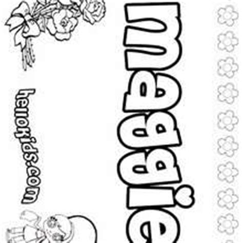 coloring pages with the name madison how to draw name madison