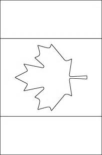 canadian flag coloring free printable coloring pages