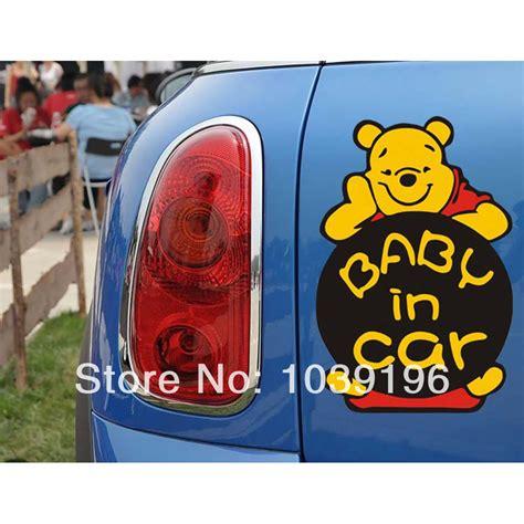 lada winnie the pooh newest design car sticker baby in car winnie pooh