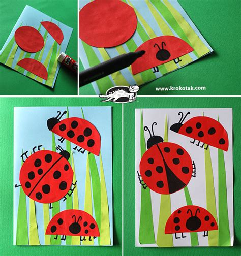 ladybug craft projects krokotak ladybug crafts for