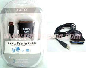 kabel usb to printer db36 cable bafo premium toko sigma