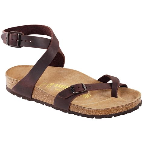 birkenstock sandals for birkenstock yara leather sandals s evo