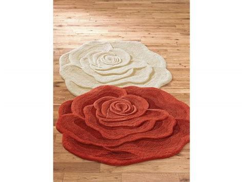 rugs with roses on them shaped rug