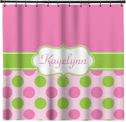 pink green shower curtain pink green dots shower curtain personalized potty