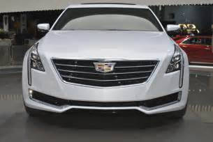 Cadillac Auto News 2016 Cadillac Ct6 Leaked Ahead Of Nyias Debut Autoevolution