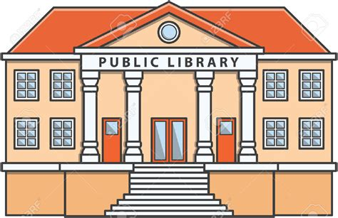 library clipart library building clipart clipartxtras