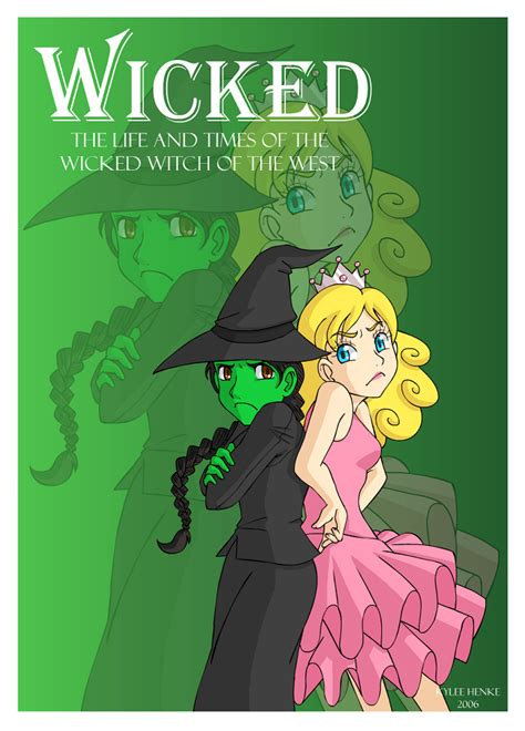 printable wicked poster wicked poster by sonicrocksmysocks on deviantart