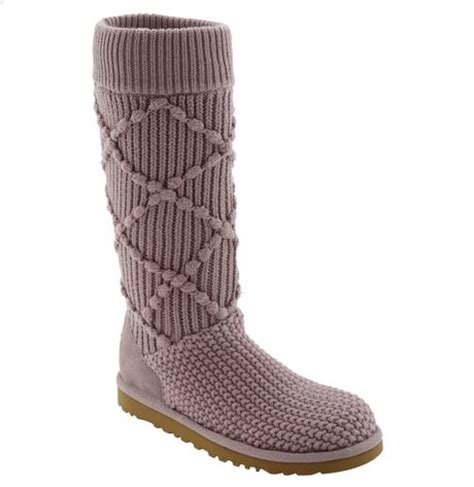 knit sweater boots ugg boots lyst