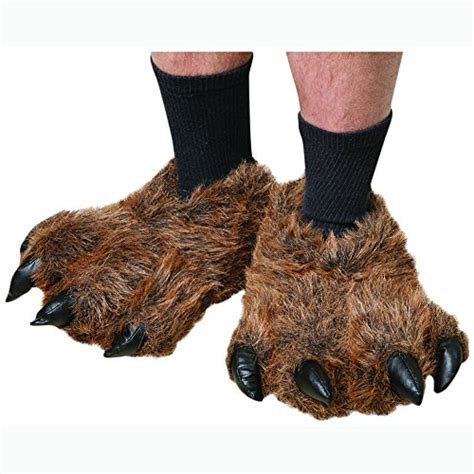 bear paw house shoes wishpets grizzly bear paw slippers
