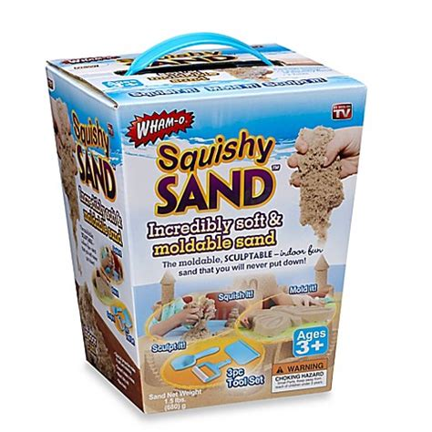 Squishy Sand Mainan Pasir Moldable Sand Toys squishy sand soft moldable sand kit buybuy baby