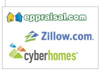 automated home valuations from trulia zillow etc who do
