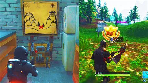 fortnite week 6 treasure map fortnite quot snobby shores treasure map quot location week 3