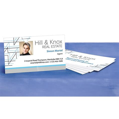 Injet Business Card Template by Inkjet Business Cards Glossy Gallery Card Design And