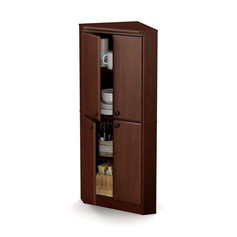 Shore Armoire by South Shore Armoire In Royal Cherry 10388