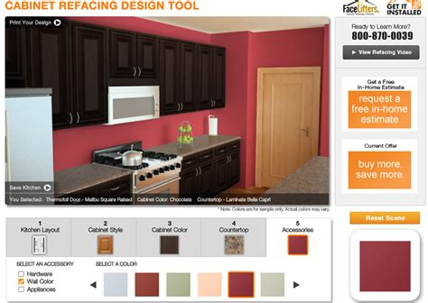 kitchen cabinet refacing home depot the home depot cabinet refacing design tool growing up gabel