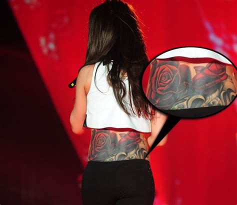 cheryl cole rose tattoo cheryl cole back design only tattoos