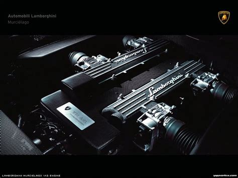 Motor De Lamborghini My Free Wallpapers Vehicles Wallpaper Lamborghini Engine
