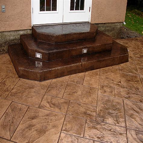 concrete patio design pictures sted concrete patios this sted concrete patio
