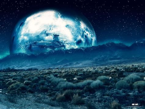 Lunar Landscape Definition Space Space Sci Fi