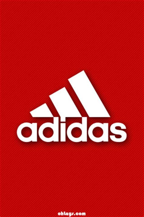 adidas wallpaper red red adidas iphone wallpaper 1187 ohlays picture to pin on