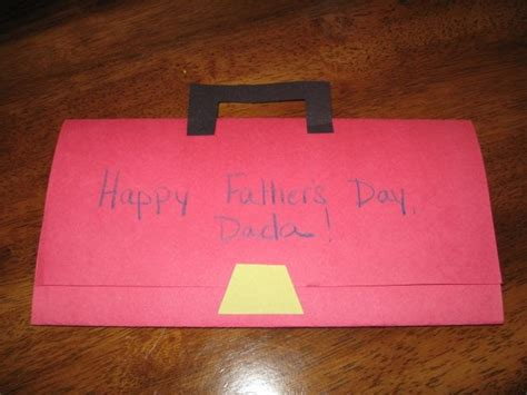 preschool fathers day card templates preschool crafts for s day toolbox card