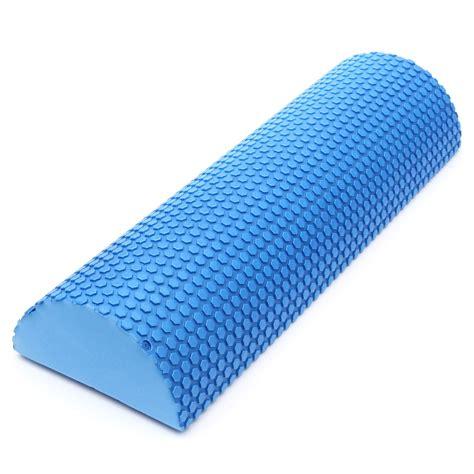 Fitness Foam Roller Pilates Foam Roller T0210 ᑐ45cm half foam roller pilates fitness fitness foam roller exercise