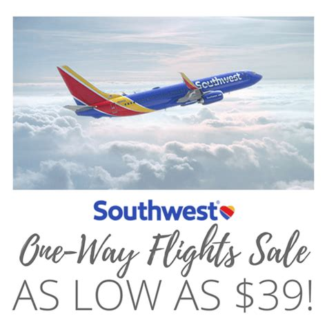southwest 39 sale southwest airlines one way flights as low as 39