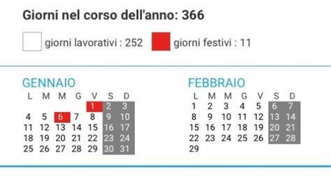 Calendario Giorni Festivi Scuola 2015 Pronti Per Il 2016 Sar 224 L Anno Dei Ponti Con 7 Giorni Di