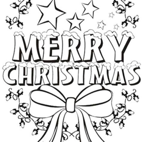 merry christmas coloring pages pictures to pin on