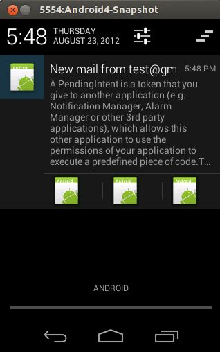 tutorial android notification android notifications tutorial