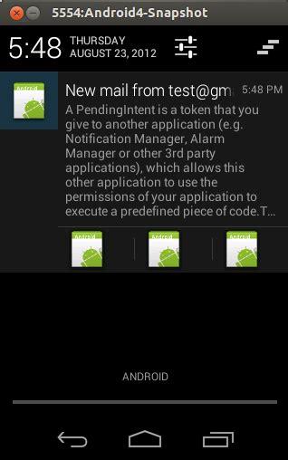 android studio tutorial push notification android notifications tutorial