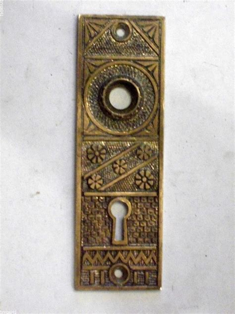 Antique Door Knob Backplates by Antique Eastlake Door Knob Backplate By Fclinde And Co Ebay