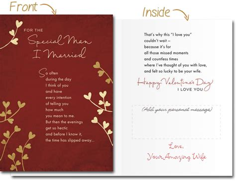 printable valentine card for husband selecting the perfect valentine s card for loved ones