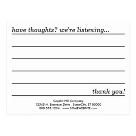 suggestion box comment cards template suggestion box cards zazzle