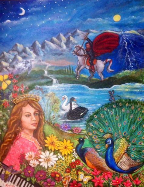 imagenes visuales de sonatina mar 237 adilia mart 237 nez pinta los versos de rub 233 n dar 237 o como