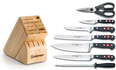 what is the best brand of kitchen knives wusthof classic 8 deluxe knife block set on sale