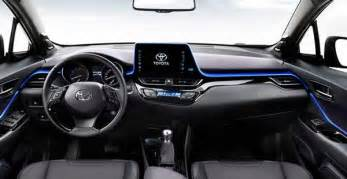 Expose New 2017 Toyota Ch R Suv Interior 2017 Toyota C Hr Review Specs Price Leaked