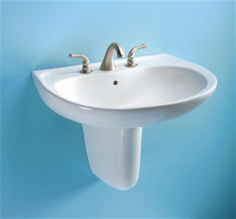 toto wall hung sink toto lht242g 01 prominence suite wall mount lavatory sink