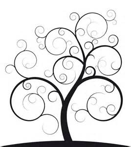 Spiral Tree Template by The 25 Best Tree Outline Ideas On Tree