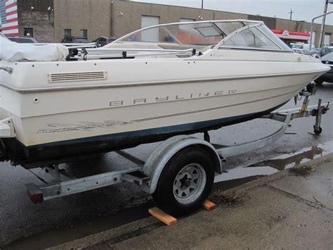bayliner bowrider boats bayliner capri 1950 bowrider boat for sale from usa