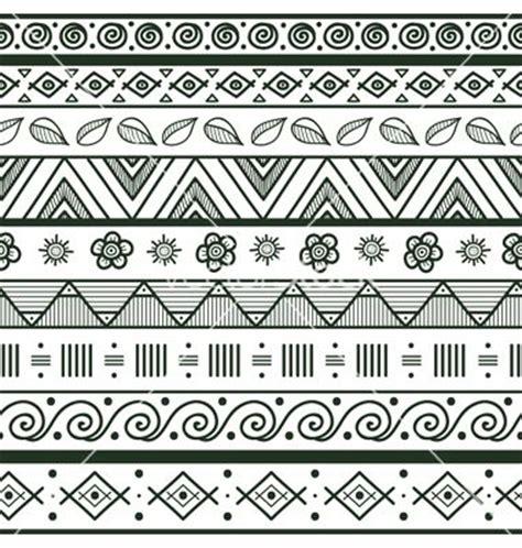 Best 25  Tribal pattern art ideas on Pinterest   Tribal patterns, Mandala pattern and Border pattern