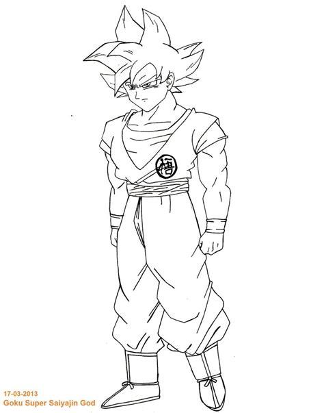 dragon ball z super saiyan god coloring pages mobile dragon ball z goku super saiyan god blank coloring