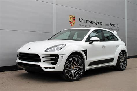 porsche macan white 2017 white porsche macan ursa by topcar for sale autoevolution