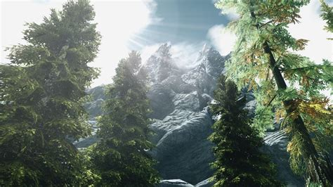 skyrim ultra graphics mod skyrim in 4k rendered in 4k ultra graphics modded