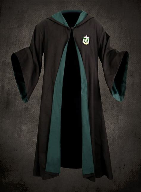 harry potter robes official slytherin school robe official replica from the